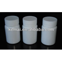 Botella de medicina de plástico