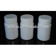Flacon de médecine plastique
