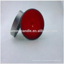 Mini velas perfumadas de estanho