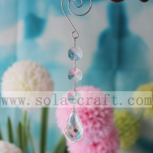 Popular Design for Crystal Prism Drops New Teardrop Crystal Chandelier Prism With 14MM Octagon Acrylic Beads supply to Seychelles Supplier