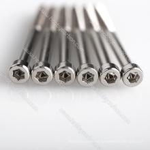 Tornillos de máquina de cabeza hexagonal de acero inoxidable M2, M2, M3, M4, M5