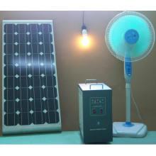 Kit solar portátil 100W mono panel solar residencial