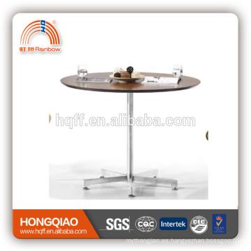 Mesa de centro moderna de cristal del acero inoxidable de T-Y49-1 (MFC)
