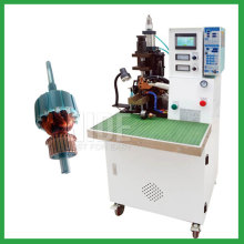 Armature commutator hot stacking machine