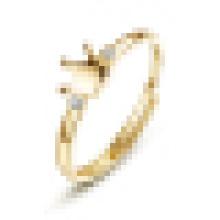 Véritable 925 Sterling Argent Double Pierres Précieuses Pave Couronne Anneau pour Femmes De Mariage Anneau De Fiançailles Anel Feminino
