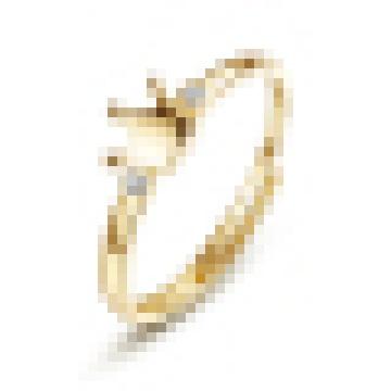 Genuine 925 Sterling Silver Duplo Gemstone Pavimentar Anel de Dedo da Coroa para As Mulheres de Casamento Anel de Noivado Anel Feminino