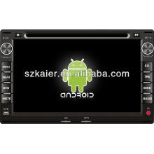 Dvd do sistema Android para VW Passat / Spacecross / Fox / Spacefox