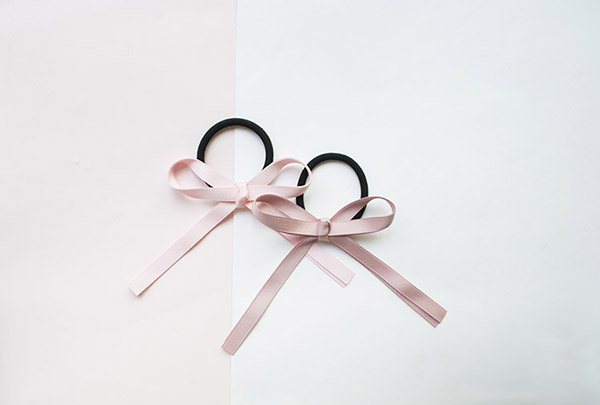 Ribbon Bowknot Hair Rope