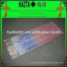 dobby silk shawl