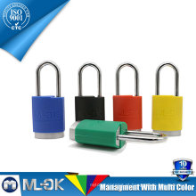 MOK @ W202 / W202L cadeado de combinação de tamanho pequeno em liga de alumínio com cadeado colorido