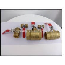 NPT thread watermeter ball valves