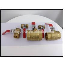 NPT thread watermeter ball valves