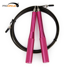 Fitness Skipping Steel Cable Wire Jump Rope With Counter