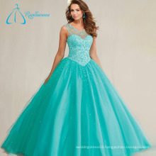 Sequined Beading Pearls Unique Quinceanera Dresses