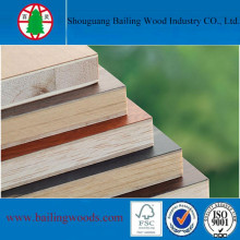 Pine Core Commercial Plywood for Decoration