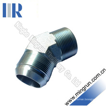 45 Elbow Jic Male / NPT Male Hydraulic Adapter Tube Connector (1JN4)