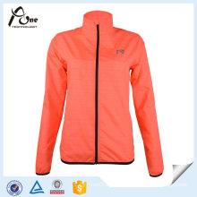 Women Running Wear Reflective Strip Jacket