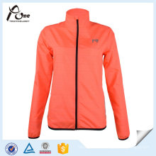 Women Running Wear Reflective Strip Jacket