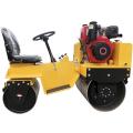Low price double steel wheel road roller