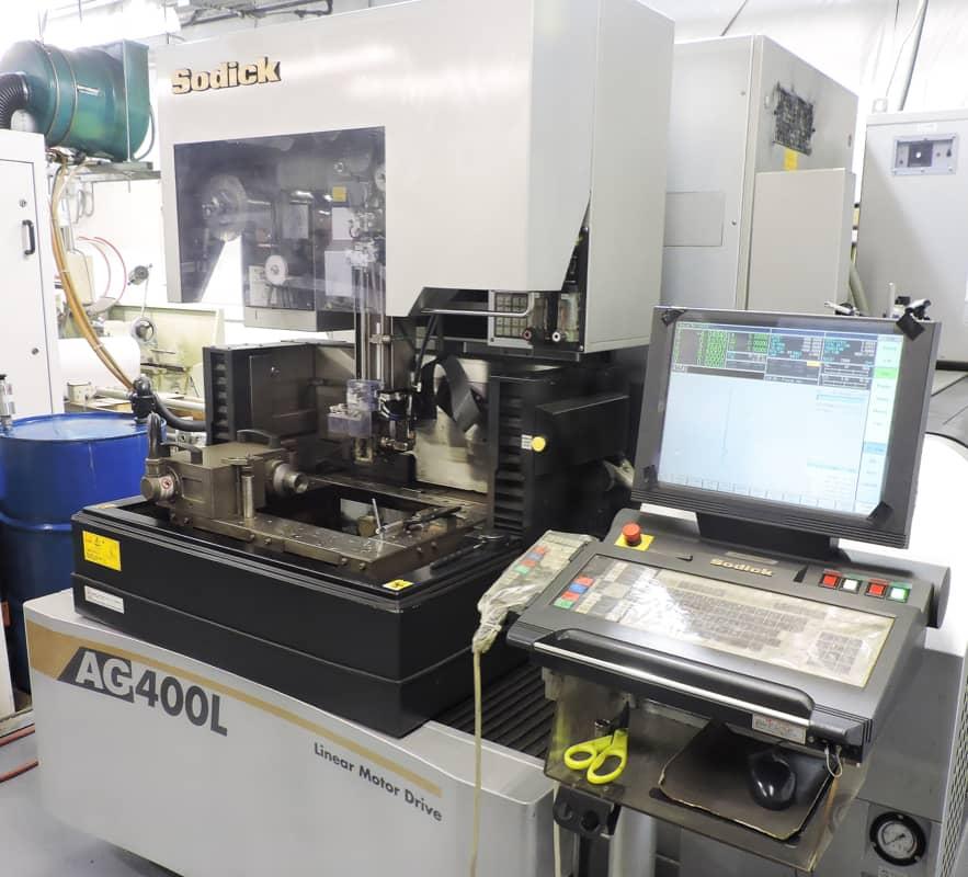 WEDM machining