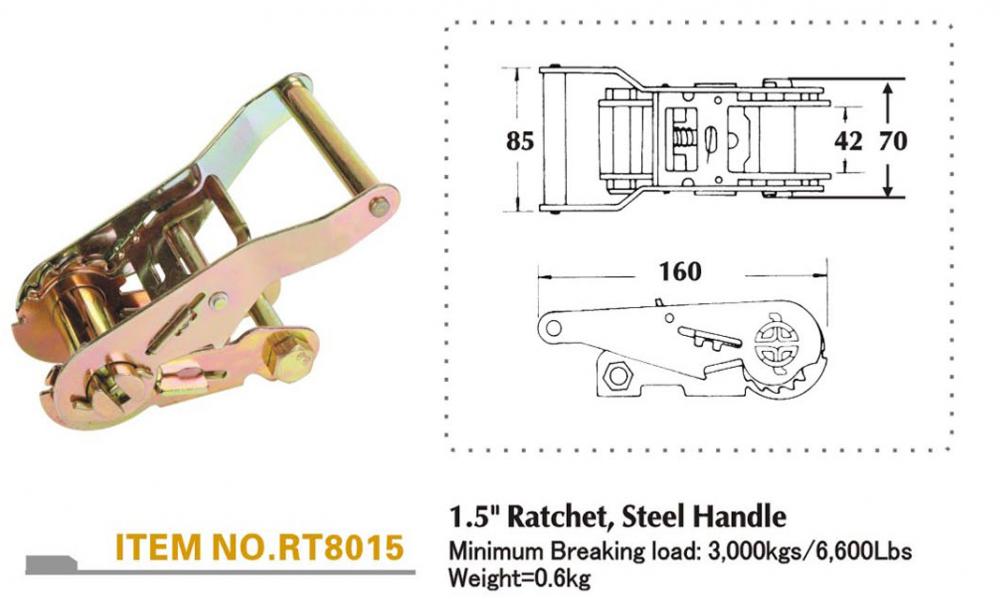 ratchet buckle