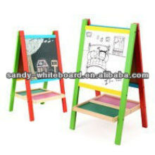 Wood Frame Whiteboard preto ardósia placas de giz XD-PT13-2