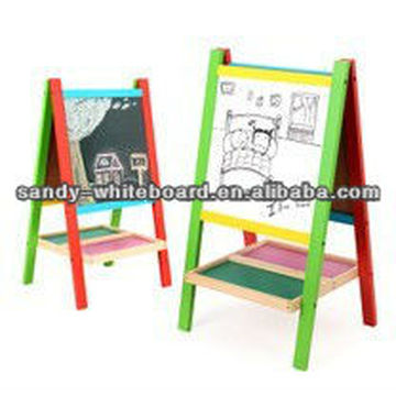 Wood Frame Whiteboard black slate chalk boards XD-PT13-2