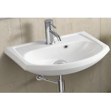 Bassin de salle de bains en céramique suspendu (490)