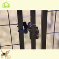 Black Pet Dog House met weddenschapvrije hoes