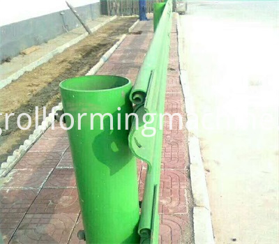 Highway Crash Barrier Forming Machines
