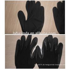 13 Gauge Nylon Handschuh mit Mikro Schaum Nitril