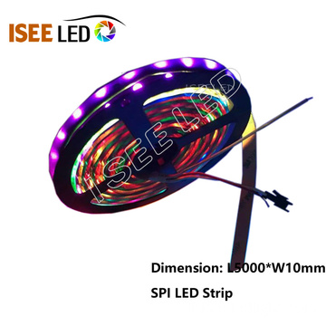قابل للبرمجة SPI Flexible Strip RGB WS2811 IC