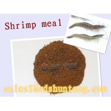 Aliments pour poulets et aliments pour poissons de farine de crevettes