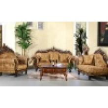 Домашний диван с деревянной рамкой софы и угловой стол (D929H)