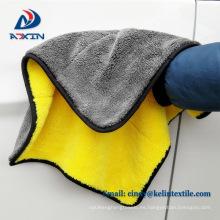 Súper suave paño de limpieza de pulido de coche de felpa de lana de microfibra de 40 * 60 cm