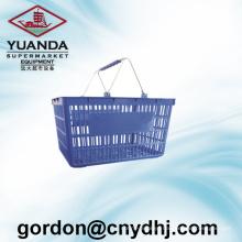 Good Price Leak Plated Supermarket Shopping Basket Zc-2-a