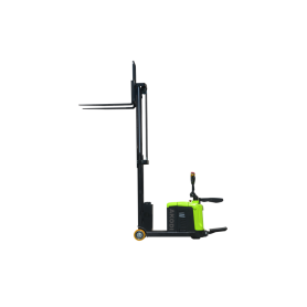 Mengimbangi Electric Stacker Dua Masts