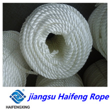Spot Supply 3/4-Strands White PP Rope, Mooring Rope, Exported Quality
