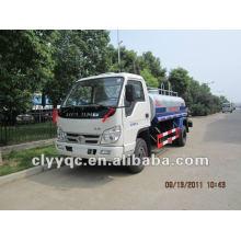 FOTON 4X2 fire truck mini used water tank truck for sale