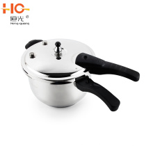 2019 High Quality 304 stainless steel pressure cooker with whistle & gasket easy to use