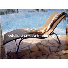 Garden Outdoor Wicker Model Rattan Lounger Furniture
