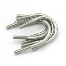 4mm stainless steel trailer axle square bent flat u shaped bolt ss 316