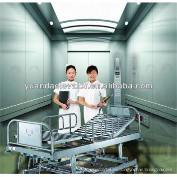 Yuanda cama de hospital ascensor