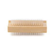 Sistema de cepillo de madera del clavo de la limpieza del logotipo de encargo barato de la fuente de la fábrica