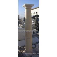 Stone Marble Granite Sandstone Colonne romaine (QCM115)