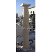 Stone Marble Granite Sandstone Roman Column (QCM115)