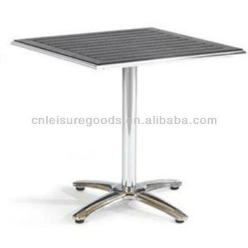 Polywood для ламелей алюминиевая напольная Таблица