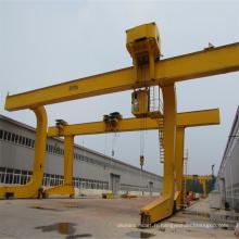 Grue à portique électrique de chariot de 10 tonnes L