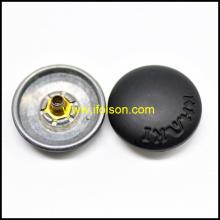 Forma de cúpula botão Snap em cor de esmalte fosco