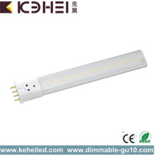 High Luminosité 2G7 LED Tube Light 8W 30000h
